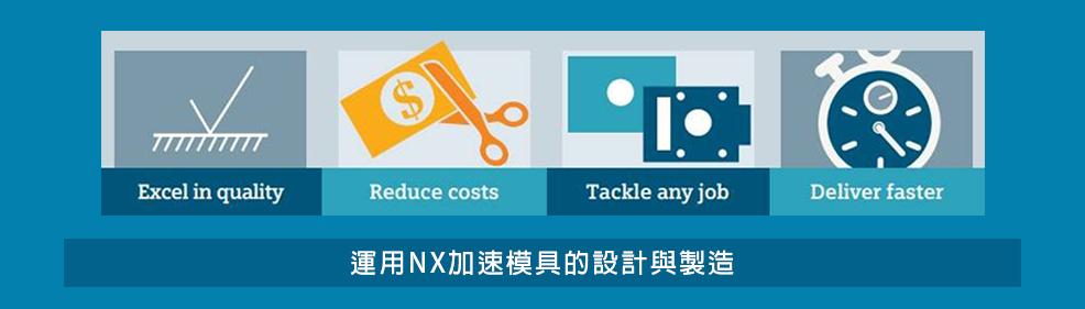 運用 NX 加速模具的設計與製造