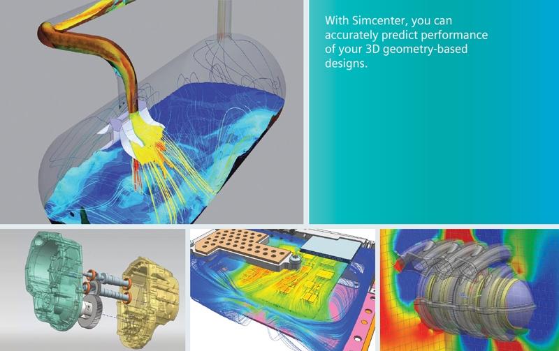西門子分析大平台 Simcenter 3D