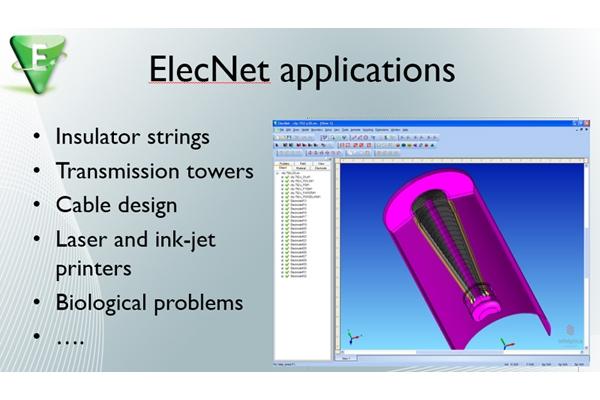 電磁分析  Infolytica