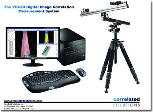 Correlated Solutions非接觸式變形及應變量測解決方案