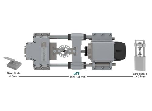 µTS微觀尺度試驗與量測系統